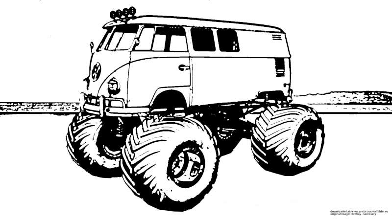 Umrissbild VW Monstertruck