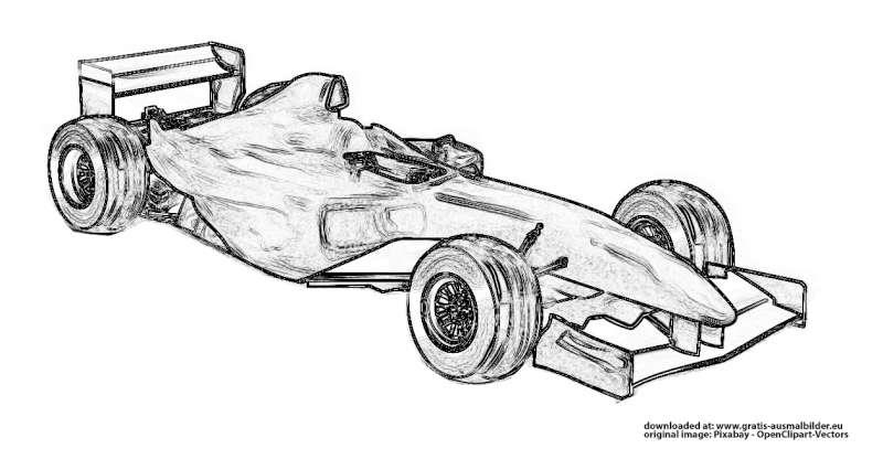 malvorlagen gratis autos  zeichnen und färben